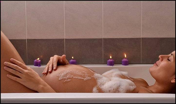 الاستحمام بالماء الساخن اثناء الحمل