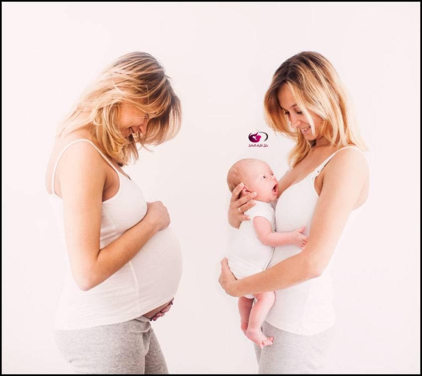 علامات الولادة
