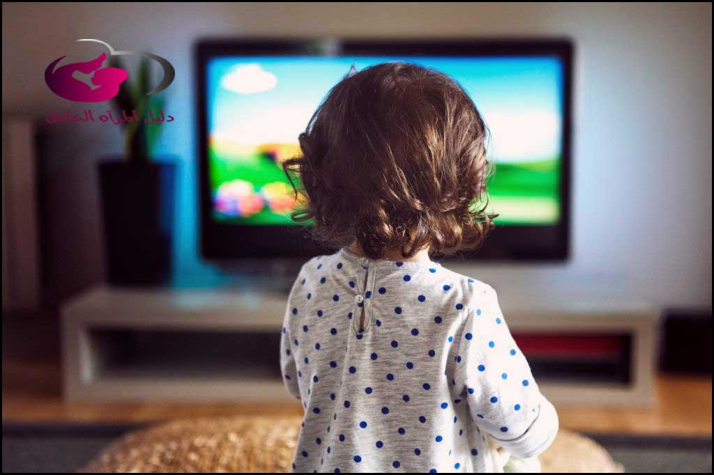 التلفاز على الرضع