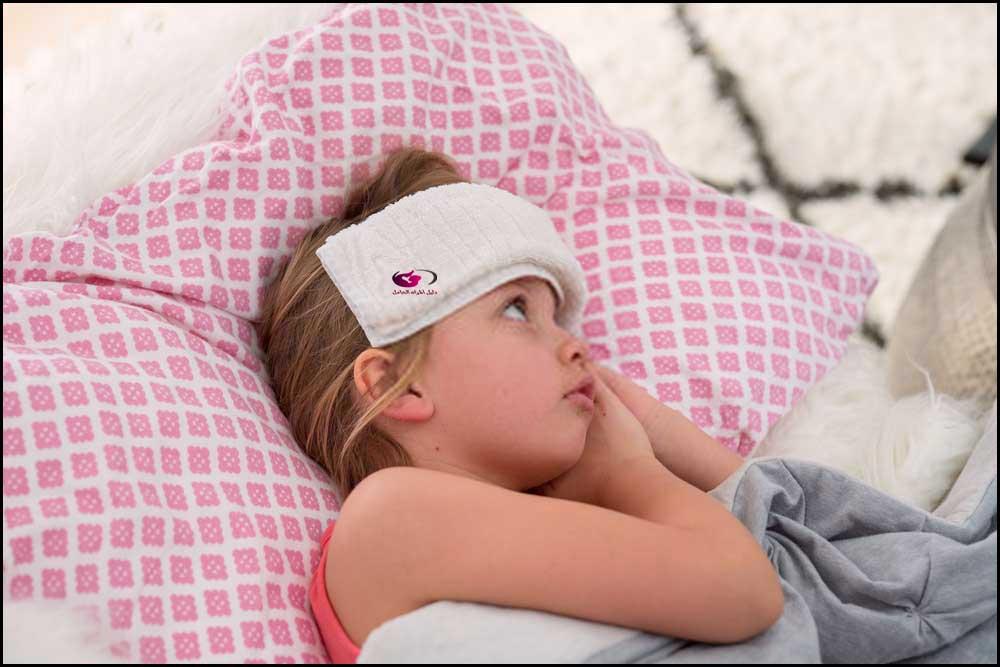 ارتفاع الحرارة عند الأطفال
