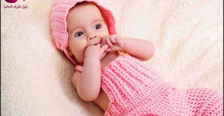 شخصية الطفل الرضيع