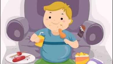 علاج السمنة عند الأطفال