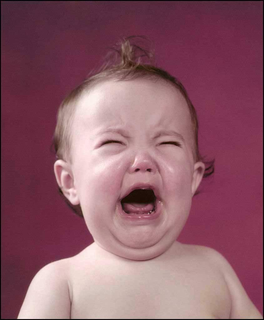 لإيقاف بكاء الطفل
