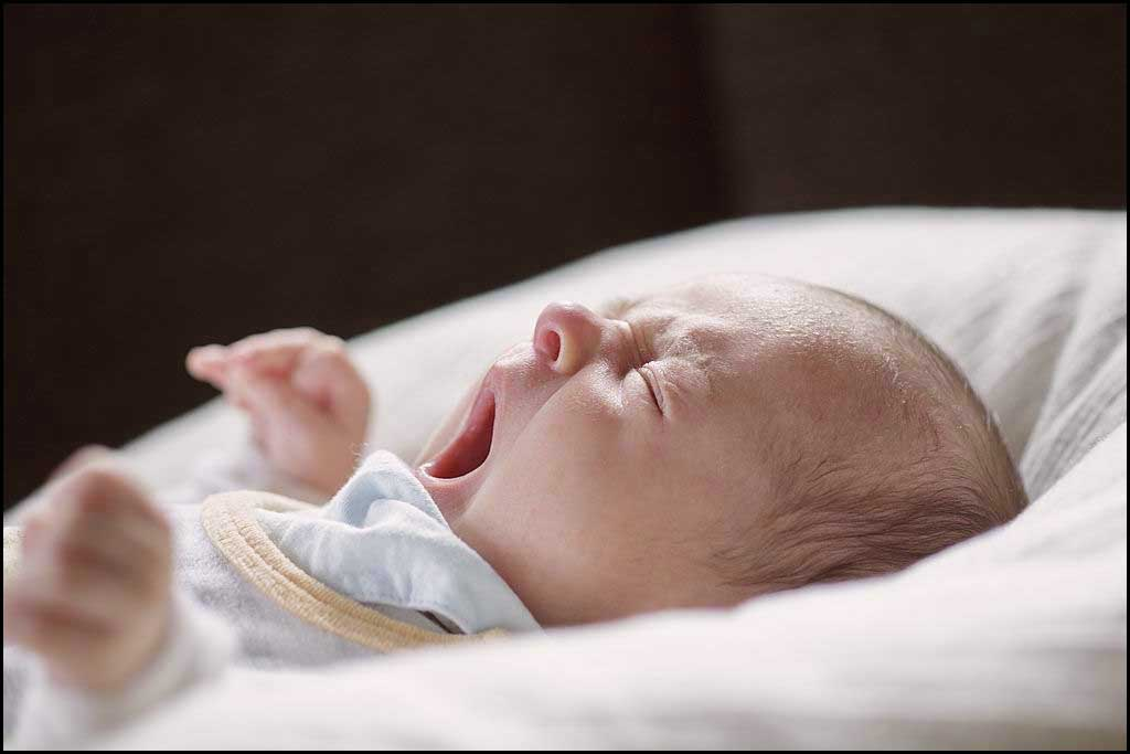 السعال عند الرضع