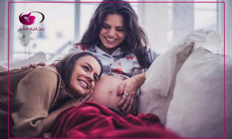 حركة الجنين في الشهر السابع