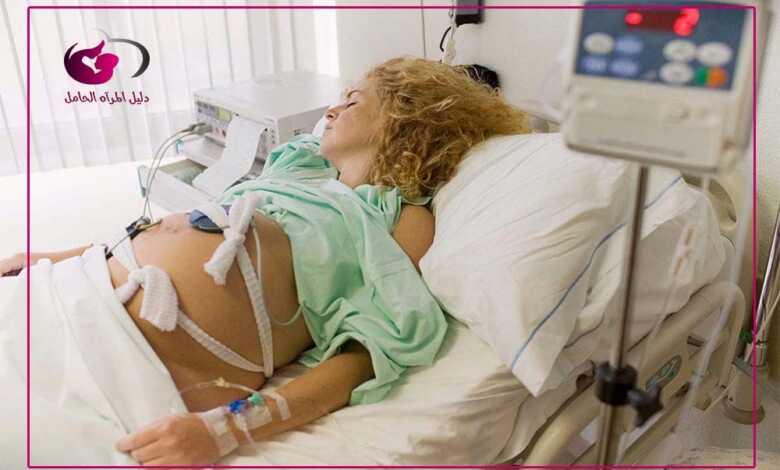 عملية قيصرية يتحمل الرحم