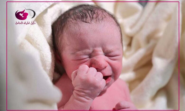 الامساك عند الاطفال الرضع