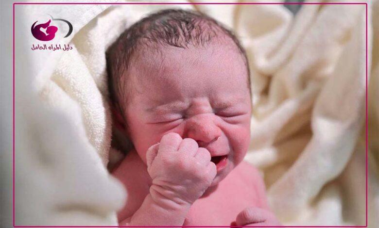 امساك الرضع بزيت الزيتون